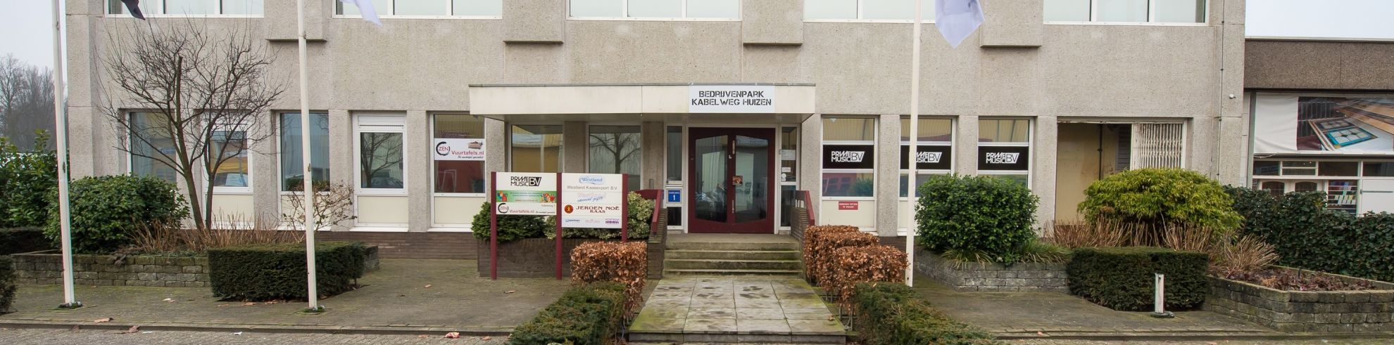 Bedrijvenpark Kabelweg Huizen Hoofdingang Entree